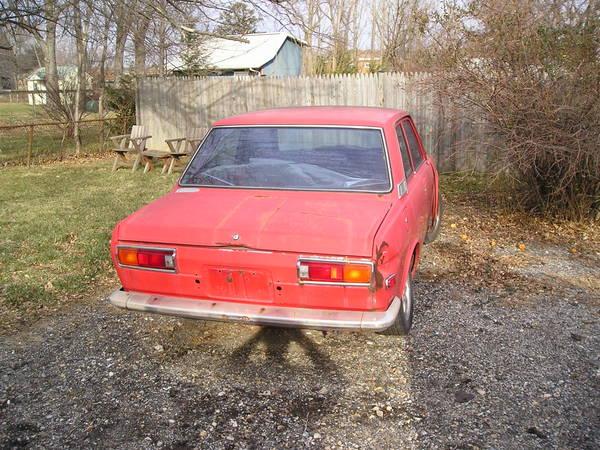 Datsun 510 Sedan Rear Bumper - Cheap - Datsun Parts For ...