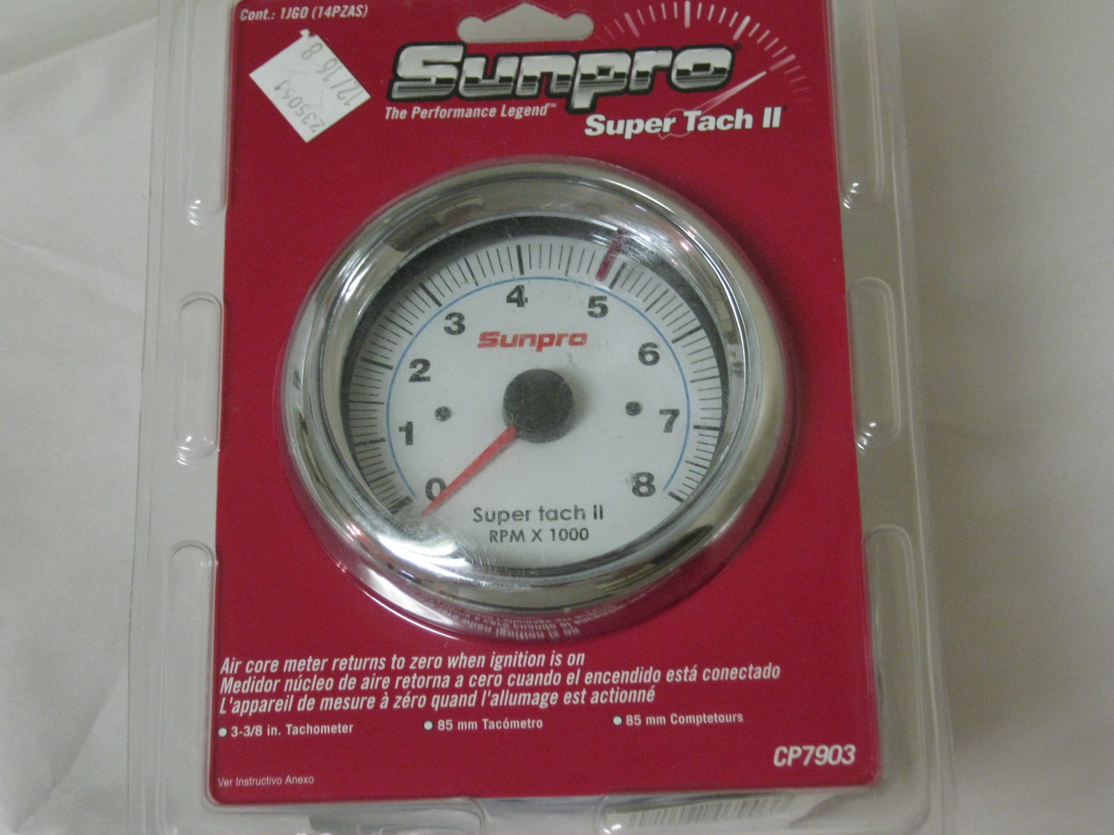 Brand New Sun Pro Gauges In Sealed Packages Datsun Parts For Sale Sunpro Super Tach Wiring Ii Tachometer Sold 0011