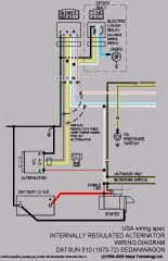 Surprising Datsun 510 Wiring Diagram Wiring Diagram Database Wiring 101 Tzicihahutechinfo
