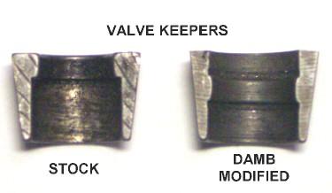 Custom Valve Keepers