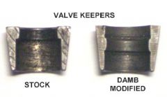 Custom Valve Keepers