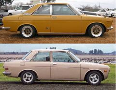 bluebird coupe vs PL510 profile