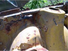 Junkbox Inner Fender Rust Through