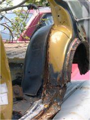 Rear Wheelwell Separation