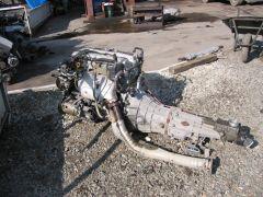 SR20DE engine and trans