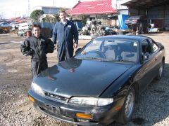Ralph and Nobi with an S14