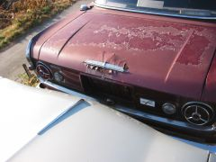 Rust on the Prince Trunk Lid