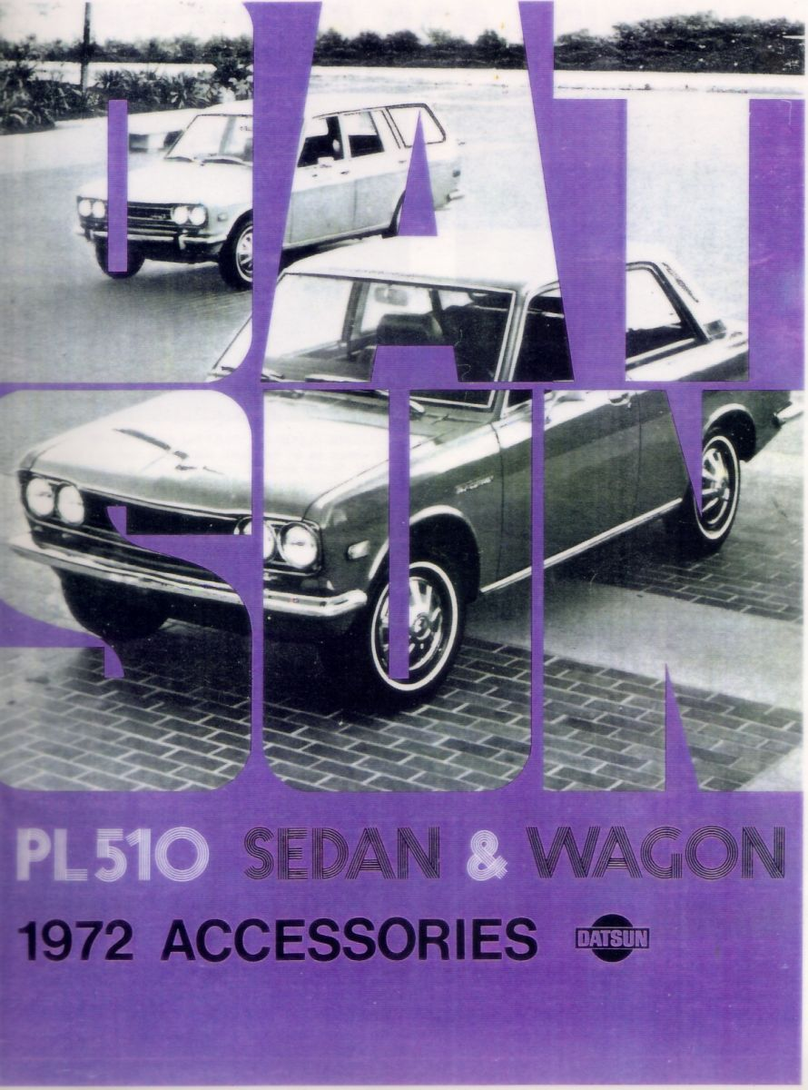 Datsun 510 Accessories for '72 (1 of 6)