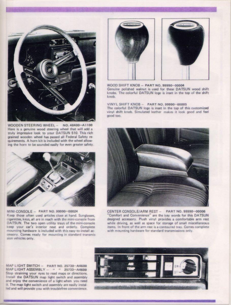 Datsun 510 Accessories for '72 (4 of 6)