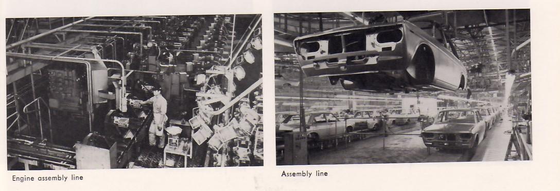 Bluebird Assembly Line