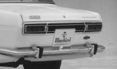 Bluebird Sports tail light panel