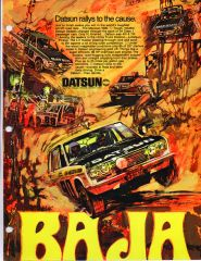 Baja Datsun ad