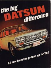 '68- The Big Datsun Difference!