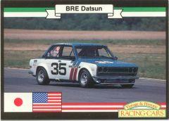 BRE Vintage Racer Collector Card