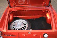 Mazda RX- Rear Spare Tire