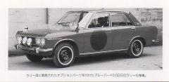 Factory Bluebird SSS Rally 510
