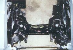 Front crossmember notch