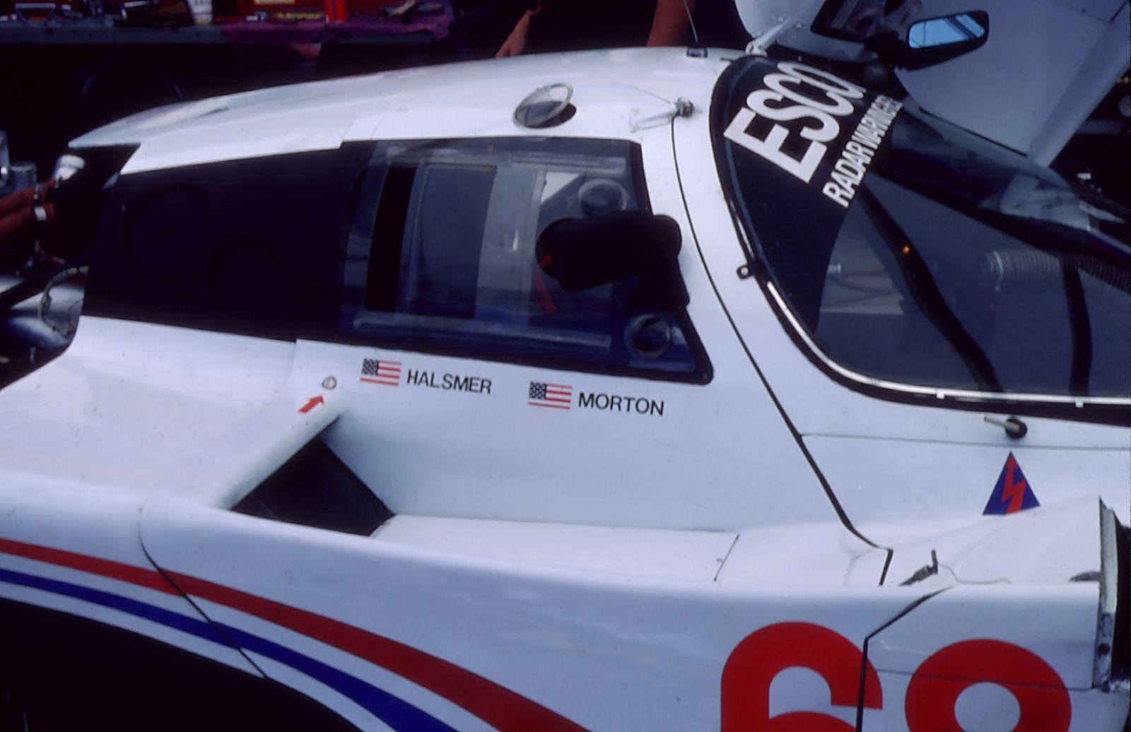Winning car, 1985 Times Grand Prix of Endurance,  Riverside