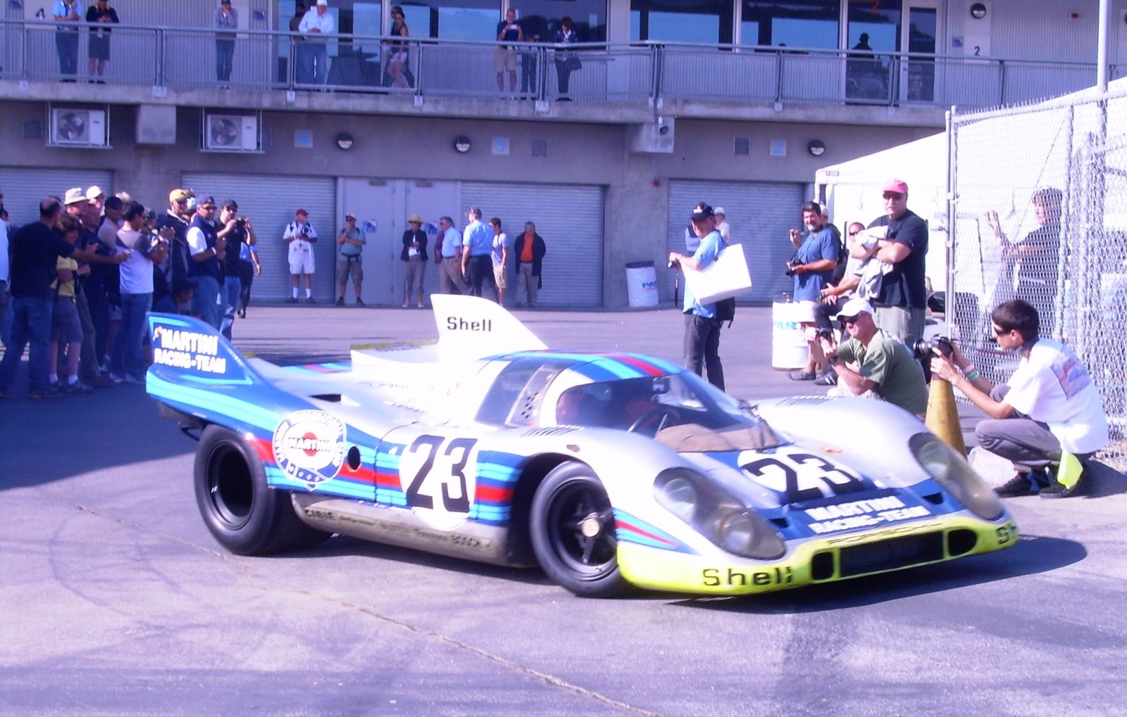 John Morton in POrsche 917