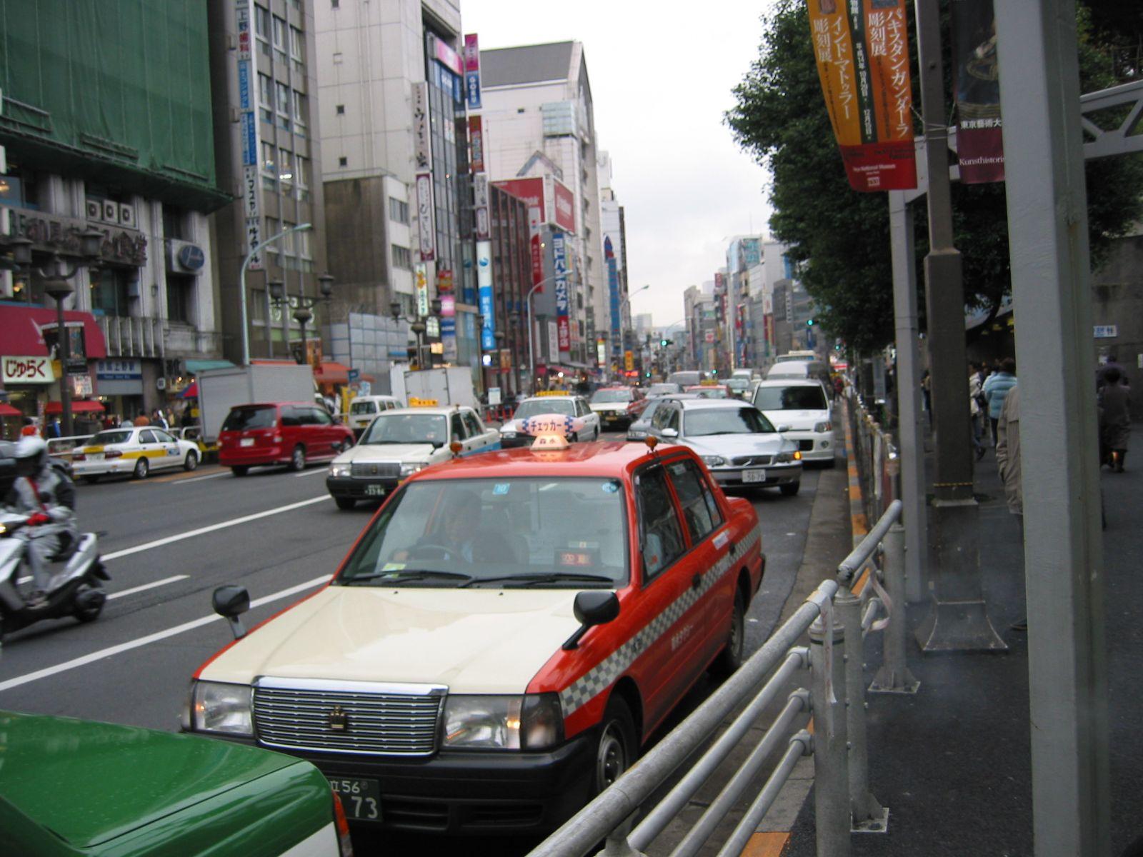2002 Japan Trip Car Photos