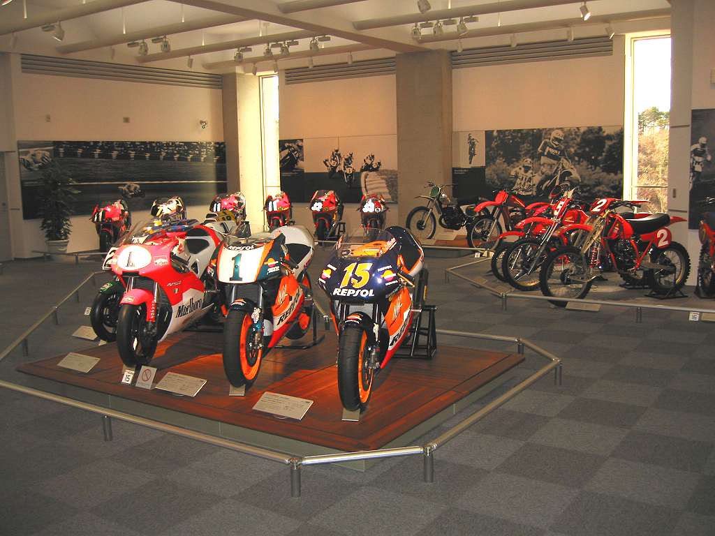 Just a small portion of the racing section at the Honda Collection