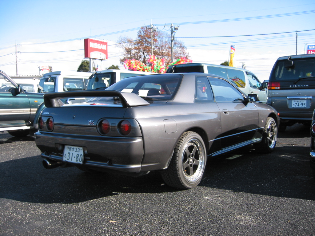 Rear of the R32 Skyline GT-R