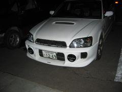 Wild Subaru front bumper