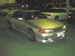 Skyline GT-R on a used car lot
