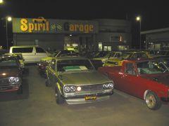 Spirit Garage parking lot