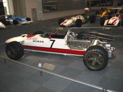 Vintage Honda Racecar