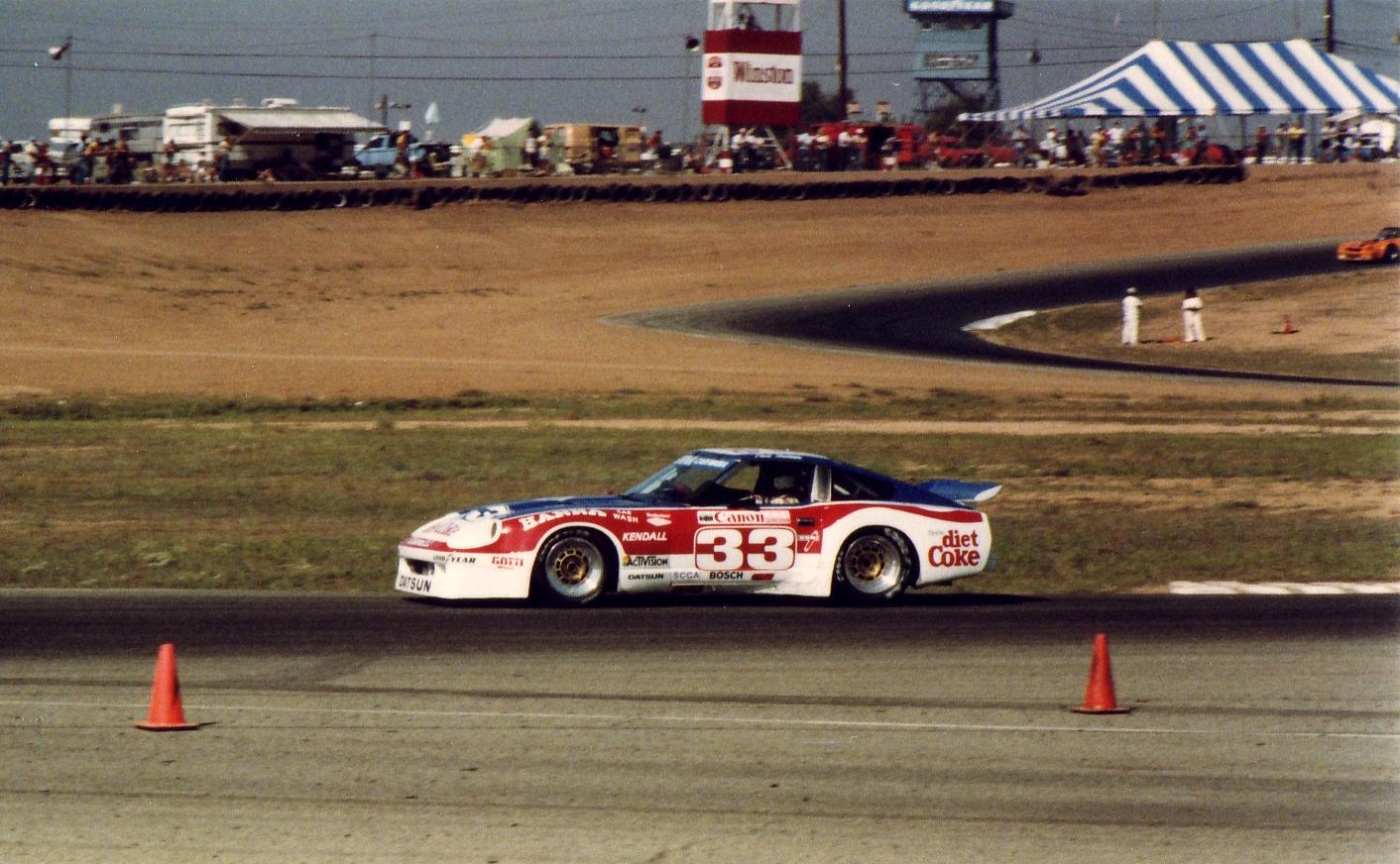 PLN, Trans Am Race, Riverside, 1983