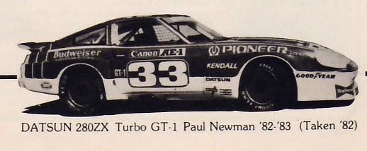 PLN, 280ZX-T, SCCA GT-1, 1982