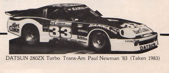 PLN, 280ZX Turbo, Trans Am 1983