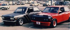 510s of Phil Spriggs and Randy York, Solvang Run '85