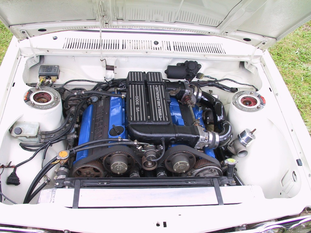 VG30DET powered Datsun 1600