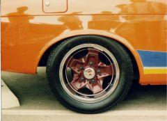 5 lug Porsche wheels on a 510