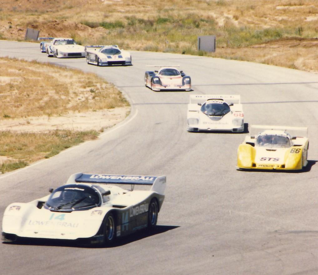 Al Holbert/ Al Unser Jr. Porsche 962