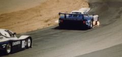 Zakspeed Mustang GTP Entering Riverside Turn 6