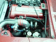 SR powered 240z red 3