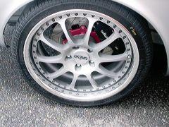 Silver 240z wheel's