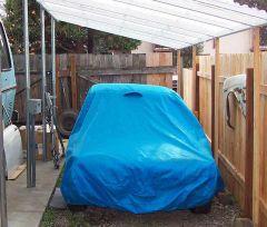 Not a garage, but not bad...