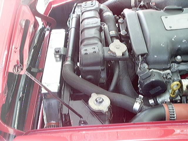 S14 sr powered roadster intercooler