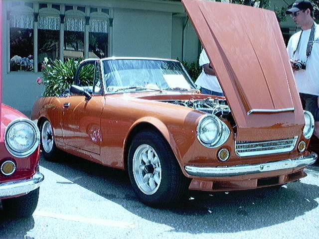 Burnt Orange Roadster