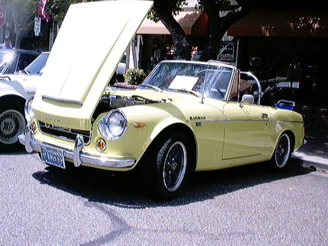 Yellow 2000 Roadster