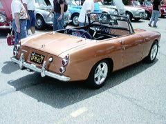 1963 3 Seater Roadster, rear