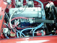 Race car U20 motor