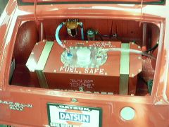Race car trunk