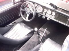 Eddie's SR powered Roadster int.