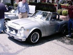 Very Cool Silver Roadster