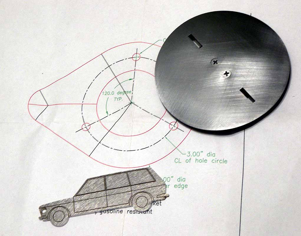 Paolo Musanti's flush-mounted SS cap